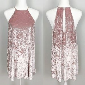 NWT Show Me Your Mumu Velvet Gomez Dress